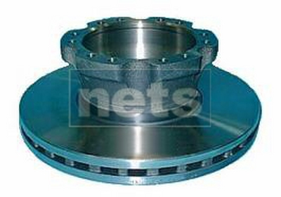 REPLACEMENT BRAKE DISC WITH CAST ABS TEETH
