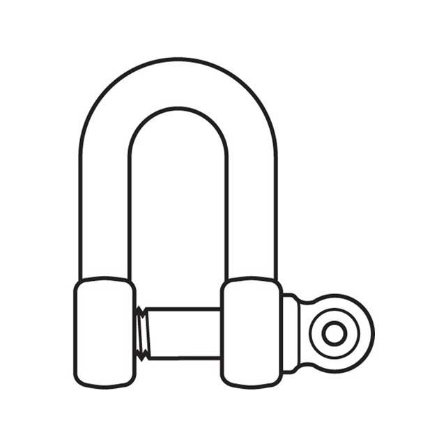 D SHACKLE PIN