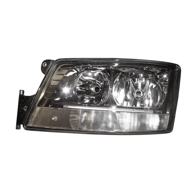 HEADLAMP ASSEMBLY RH COMPLETE WITH DAY LIGHT RUNNING LIGHT<br>SUITABLE FOR MAN TGX  - O.E REF - 81251016512
